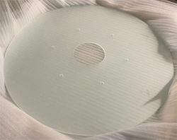 雾化光学玻璃转盘