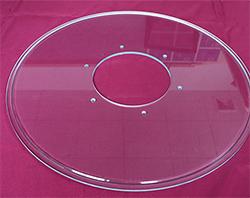 无锡光学刻槽玻璃转盘